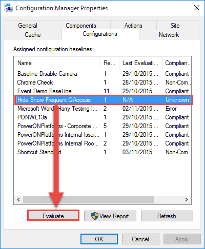 Clean up Windows 10 Quick Access with ConfigMgr | PowerON - IT Services