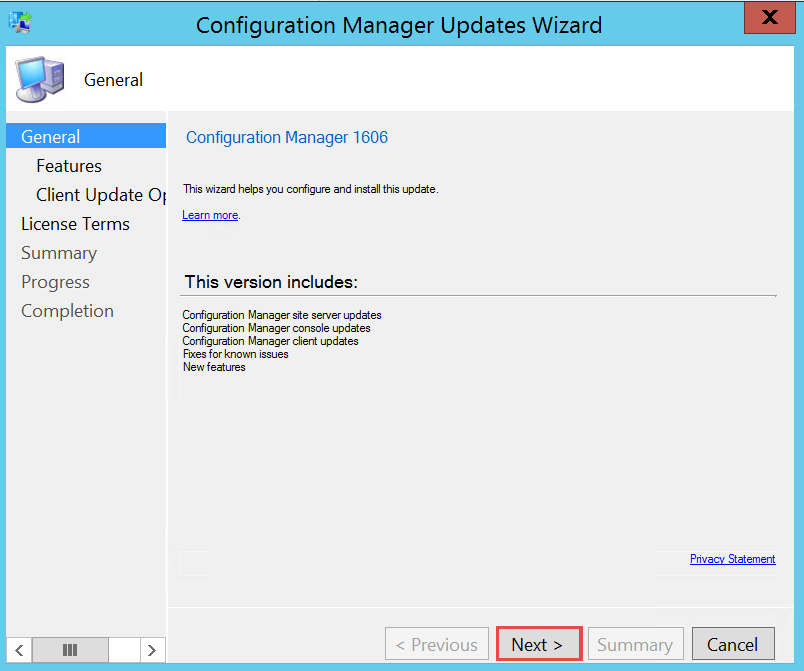 How to Upgrade to ConfigMgr 1606 | PowerON - IT Services