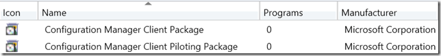 1606 Upgrade - Client Packages